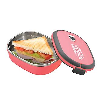 Pink Rectangular Lunch Box