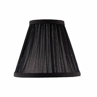Six Inch Black Organza Shade