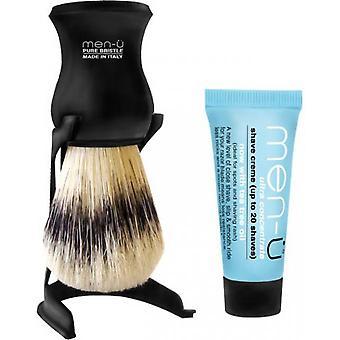 Italiensk Badger realist hår-perfekt barbering