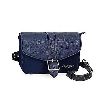 Pepe Jeans Ann Blue 18cm Crossneck Bag (Blue) - 7724963