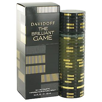 The Brilliant Game by Davidoff Eau De Toilette Spray 3.4 oz / 100 ml (Men)