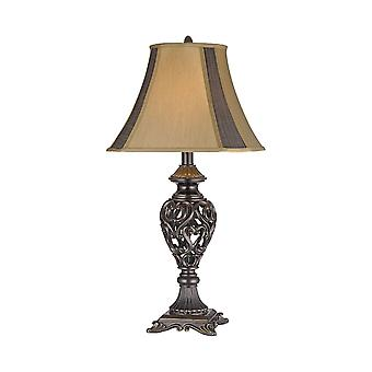Bronze heartsong table lamp stein world