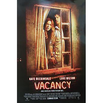 Affiche de cinéma d'origine de Vacancy (Double Sided International)