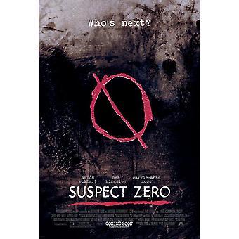 Supect Zero (Double Sided Regular) Original Kino Poster