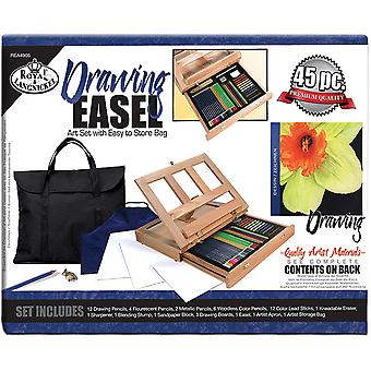 Easel Art Set With Easy To Store Bag Drawing Rea4905
