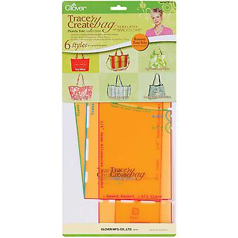 Trace 'N Create Bag Templates With Nancy Zieman Florida Bag Collection 9515