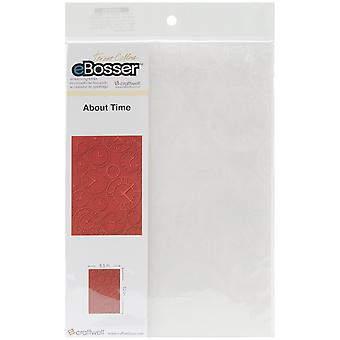 Embossing Folder Universal Size By Teresa Collins About Time Tcefu Abt02