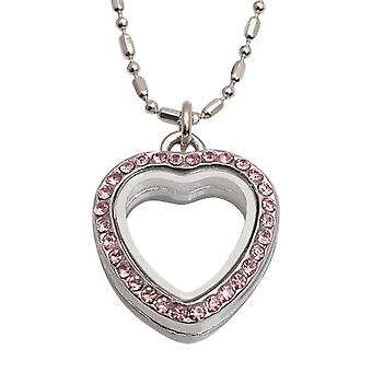 Floating necklace with pendant FN1002