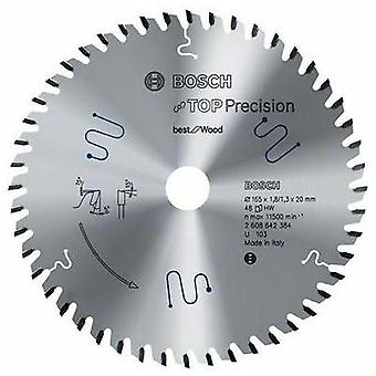 Top Precision Best for Wood circular saw blade - 165 x 20 x 1,8 mm, 32 Bosch Accessories 2608642