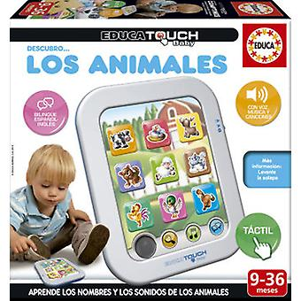 Educa Baby Touch discover Educa ... Animals