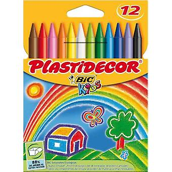 Plastidecor Plastidecor 12 colors (Toys , School Zone , Drawing And Color)