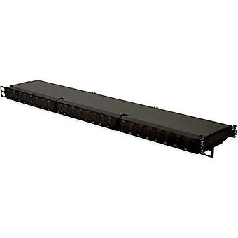 24 ports Network patch panel Digitus Professional DN-91624S-SL-EA CAT 6A 0.5 U
