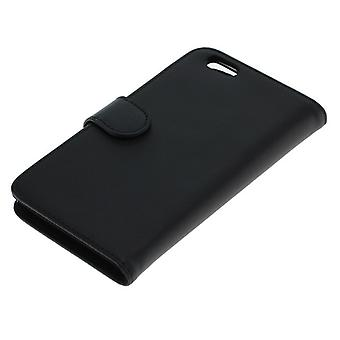 OTB (synthetic leather) for Apple iPhone 6 Pocket plus Bookstyle black