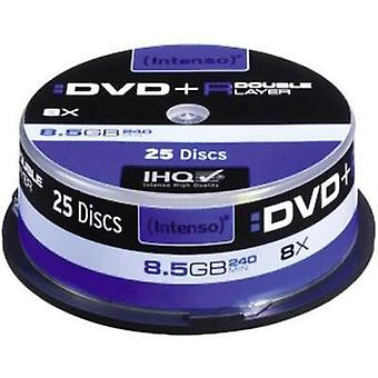 Blank DVD+R DL 8.5 GB Intenso 4311144 25 pc(s) Spindle