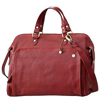 Dr Amsterdam Hand/shoulder bag Mint Dahlia Red
