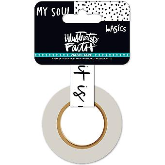 Illustré de foi Basics Washi Tape puits.625