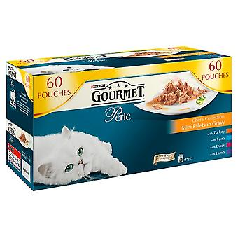 Gourmet Perle Pouch Chef Collection In Gravy 60x85g