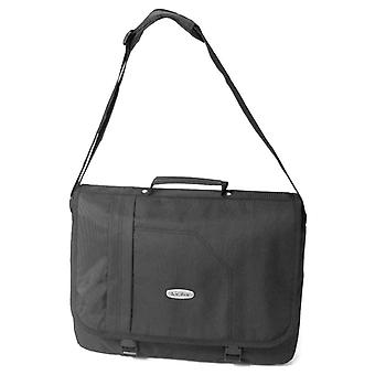 Karabar Milo Laptop Messenger Bag, Black