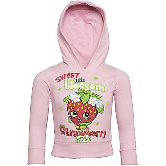 Officially Licensed | SHOPKINS | Shopkin Premium Youth Hoodie | Pink | AGE 7-8