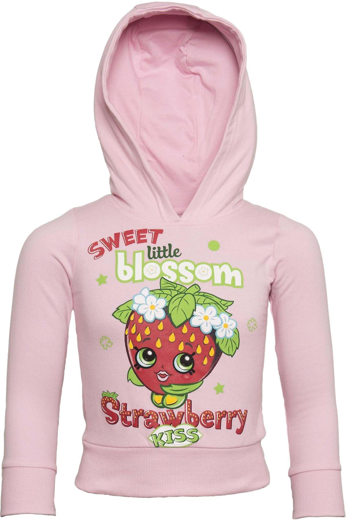 Officially Licensed   SHOPKINS   Shopkin Premium Youth Hoodie   Pink   AGE 3-4