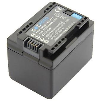 Dot.Foto Canon BP-727 Replacement Battery - 3.6v / 2680mAh