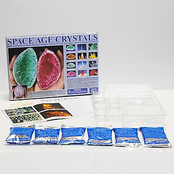 Space Age Crystal Growing Kit: 13 Crystals-  SAC6127