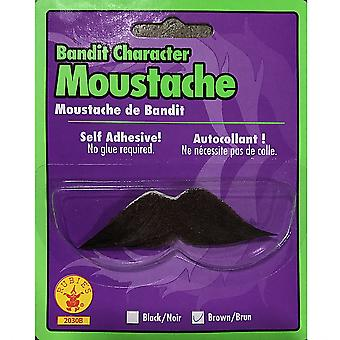 Bandit Gangster Mexican Spanish Cowboy Brown Men Costume Moustache