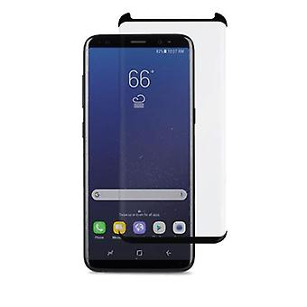 TEMPERED 3D GLASS LCD Screen Protector For SAMSUNG GALAXY S8 PLUS - BLACK
