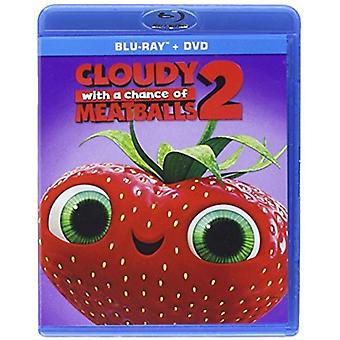 Cloudy with a Chance of Meatballs 2 [Blu-ray] USA import