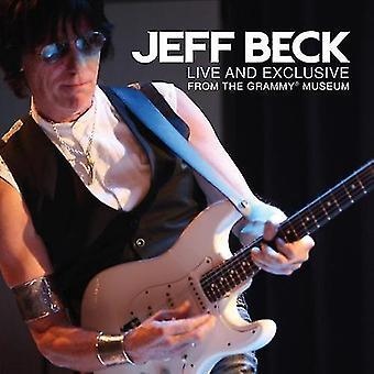 Jeff Beck - Live & eksklusive fra the Grammy Museum [CD] USA import