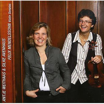 F. Mendelssohn - Mendelssohn: Violinsonater [CD] USA import