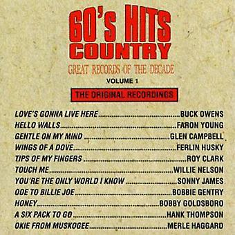 Great Records of the Decade - 60's Hits Country No. 1 [CD] USA import
