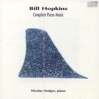 B. Hopkins - Hopkins: Komplet klavermusik [CD] USA import