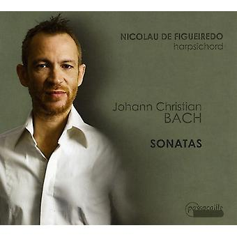 J.C. Bach - Johann Christian Bach: Sonater [CD] USA import