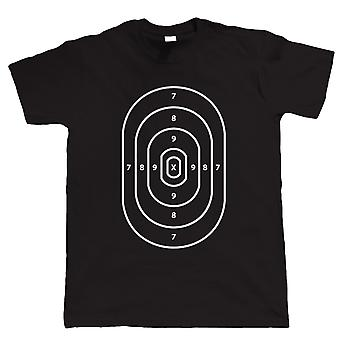 Target Practice, Mens Funny Airsoft, Paintball or Gamer T Shirt