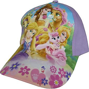 Girls Disney Princess Baseball Cap | Hat with Adjustable Back