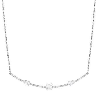 Swarovski Gray Necklace - White - 5272361