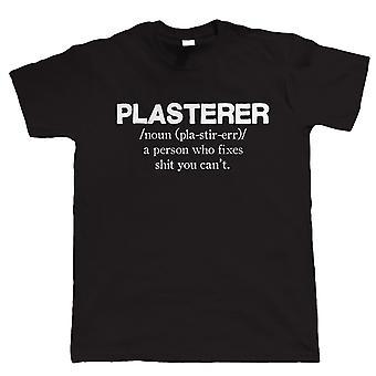 Plasterer, Herre sjov T Shirt