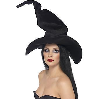 Witch Hat svart tall och vridna
