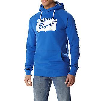 Asics Men Hoodie Pullover Blue - 123496-0801
