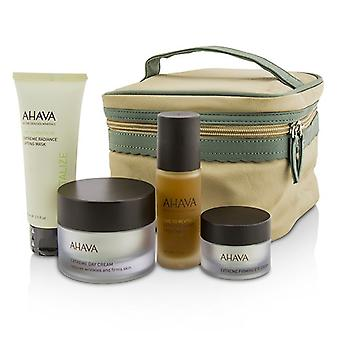 Ahava Firming Beauty Case: Lifting Mask 75ml + Day Cream 50ml + Night Treatment 30ml + Eye Cream 15ml+1bag 4pcs+1bag