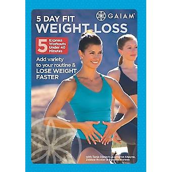 5 Day Fit vægttab [DVD] USA import
