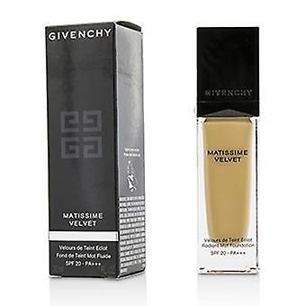 Givenchy Matissime Velvet Radiant Mat Fluid Foundation SPF 20 - #04 Mat Beige - 30ml/1oz