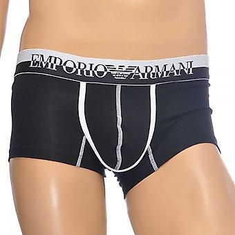 Emporio Armani Magnum Style Experience Push Up Trunk, Black, Small