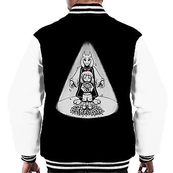 Stay Determined Undertale Men's Varsity Jacket