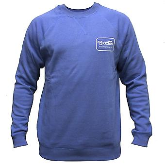 Brixton Grade Sweatshirt Royal