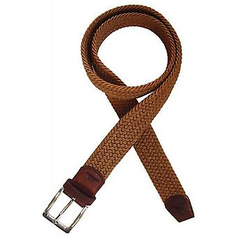 Tyler and Tyler Woven Belt - Tan