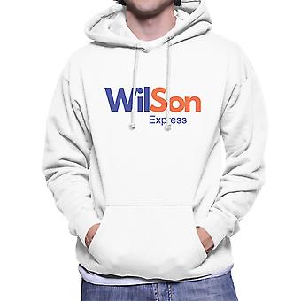 Fedex Logo Wilson Cast Away Men's Hooded Sweatshirt