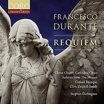 Durante / Christ Church Cathedral kor Oxford - Francesco Durante: Requiem [CD] USA import