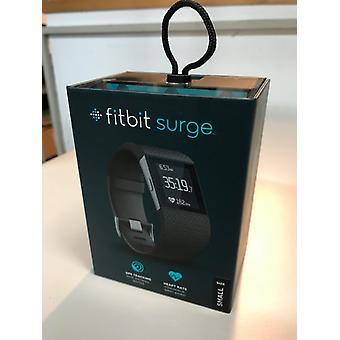 Fitbit surge FB501BKS fitness Superwatch Tracker calories of sleeping mode - small